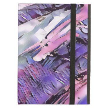 Purple Abstract Case For iPad Air