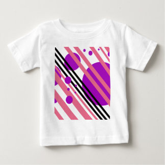 Purple abstract design by Moma Baby T-Shirt