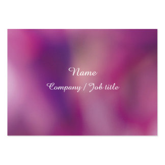 Purple Abstract Energic Vital Businesscard Large Business Card