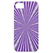Purple Abstract iPhone 5 Case