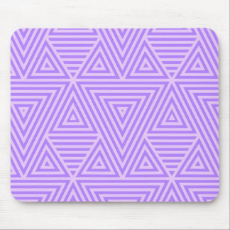 Purple Abstract Pattern by storeman Mouse Pad