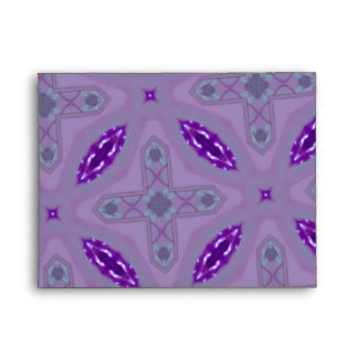 Purple abstract pattern envelopes