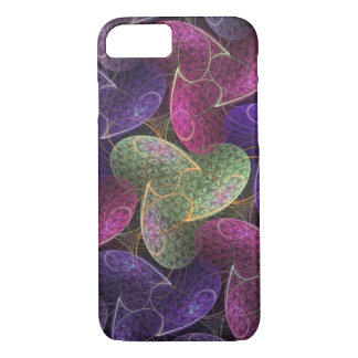 Purple Abstract Pattern Pretzel Logic iPhone 8/7 Case