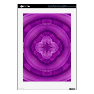 Purple abstract pattern PS3 console skins