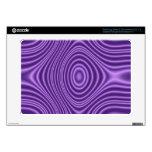 purple abstract pattern samsung chromebook skin