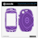 purple abstract pattern samsung gravity touch skin