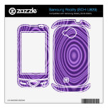 purple abstract pattern samsung reality skins