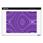 purple abstract pattern skin for acer chromebook