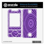 purple abstract pattern skins for motorola rival