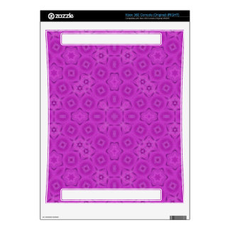 purple abstract pattern skins for xbox 360