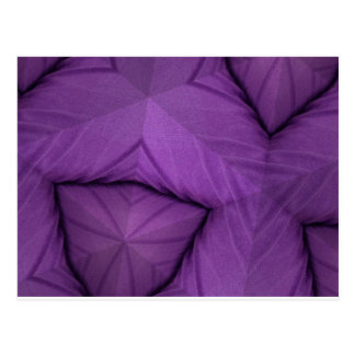 Purple Abstract Postcard