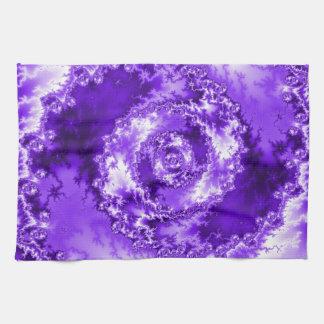 Purple Abstract Towel