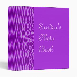 purple abstract vinyl binders