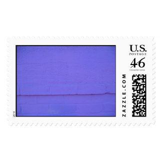 Purple Abstract Wall Photo - Postage Stamp