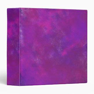 Purple Abstract Watercolor Binder