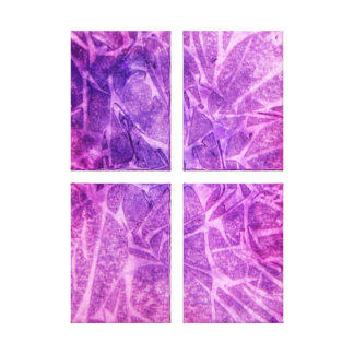 PURPLE ABSTRACT WATERCOLOR CANVAS PRINT