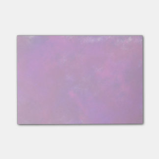 Purple Abstract Watercolor Post-it® Notes