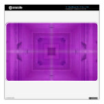 Purple Abstract wood pattern Decal For MacBook