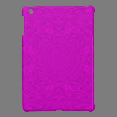 Purple abstract wood pattern cover for the iPad mini