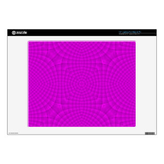 "Purple abstract wood pattern skin for 14"" laptop"