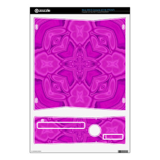 Purple abstract wood pattern skins for xbox 360 s