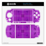 Purple Abstract wood pattern Sony PSP 3000 Skins