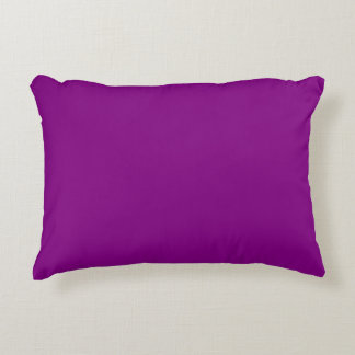 Purple Accent Pillow