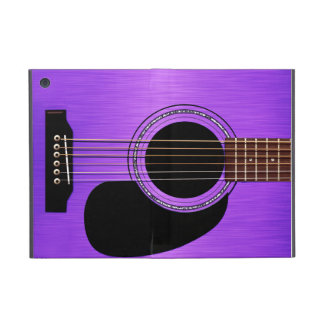 Purple Acoustic Guitar Case For iPad Mini