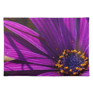 Purple African Daisy Close Up Place Mat