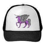 Purple Alicorn/Pegacorn/Winged Unicorn Trucker Hat