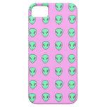 Purple Alien Case iPhone 5/5S Cover