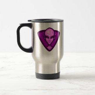 Purple Alien Logo mug