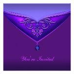 Purple All Occasion Party Invitation Template
