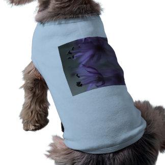 Purple Allium Flower Pet Tee Shirt