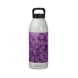 Purple Allium Reusable Water Bottle