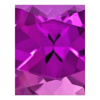 Purple Amethyst February Gifts by Sharles Custom Letterhead