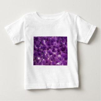 Purple Amethyst Gemstone Rock February Birthstone Baby T-Shirt
