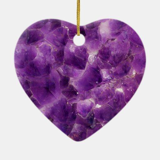 purple amethyst gemstone rock february birthstone