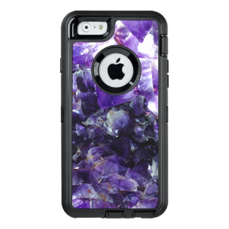Purple amethyst OtterBox defender iPhone case