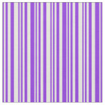 [ Thumbnail: Purple and Beige Pattern Fabric ]