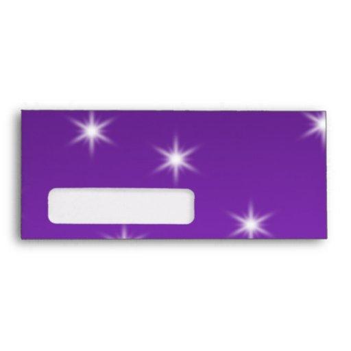Purple and Black Christmas Bauble. Envelopes