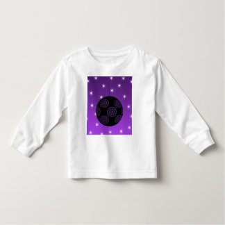 Purple and Black Christmas Bauble. Shirt
