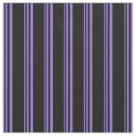 [ Thumbnail: Purple and Black Colored Pattern Fabric ]