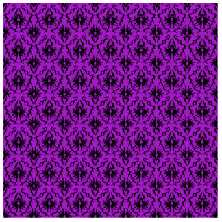 Purple and Black Damask Design. Gothic. Cutout