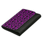 Purple and Black Hippie Pattern Wallets