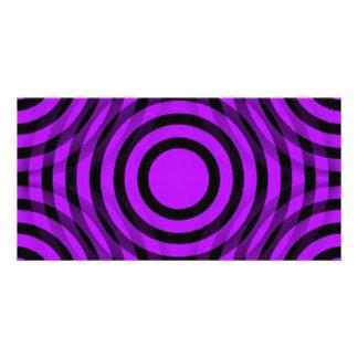 purple_and_black_interlocking_concentric_circles tarjetas personales
