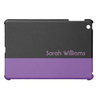 purple and black iPad mini covers