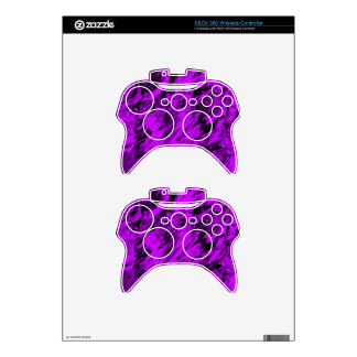 Purple and Black mix -SK- Xbox 360 Controller Skin