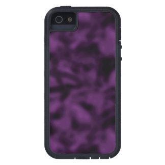 Purple and Black Mottled iPhone SE/5/5s Case