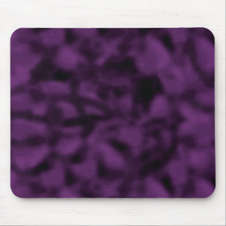 Purple and Black Mottled Mouse Pad